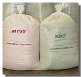 Floor Sweeping Compound by the BAG