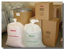 Floor Sweeping Compound packaging choices